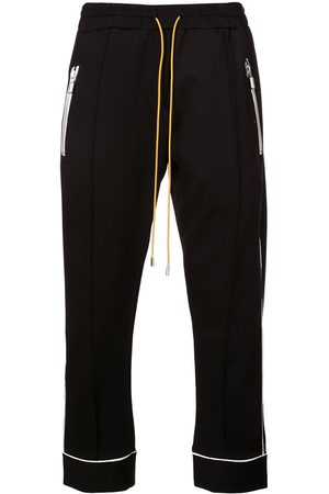 Rhude Men Sweatpants - Contrasting trim track trousers