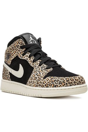 Nike Air Jordan 1 Mid SE (GS) cheetah
