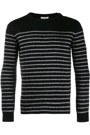Saint Laurent Horizontal-stripe jumper