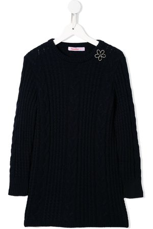 Familiar Cable knit jumper dress