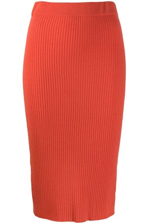 Cashmere In Love Women Skirts - Ribbed knitted skirt