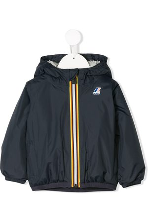 K-Way Logo hooded rain jacket