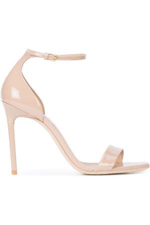 Saint Laurent Women Heels - Jane 105 sandals - Neutrals