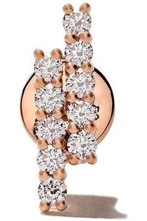 ALINKA 18kt rose MALA diamond stud earring