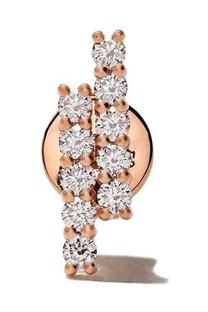 ALINKA Women Studs - 18kt rose MALA diamond stud earring