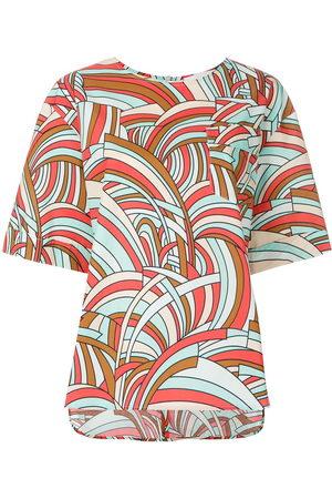 La DoubleJ Onde boxy T-shirt - Multicolour