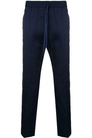 Gucci Men Straight Leg Pants - Web detail trousers