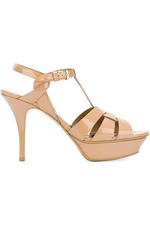 Saint Laurent Tribute 75 sandals - Neutrals