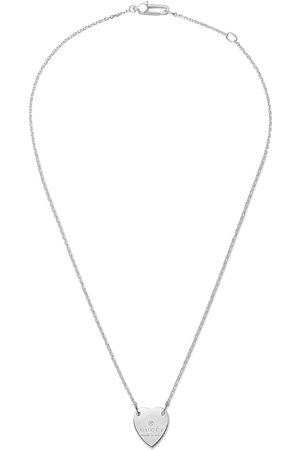 Gucci Necklace with heart pendant - Metallic