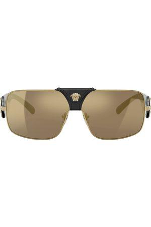 VERSACE Rectangle frame sunglasses