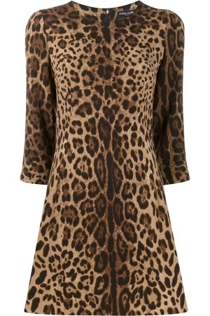 Dolce & Gabbana Leopard print dress - Neutrals