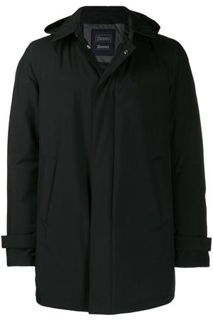 HERNO Men Coats - Detachable hooded coat
