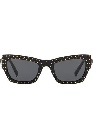 VERSACE Studded cat-eye sunglasses