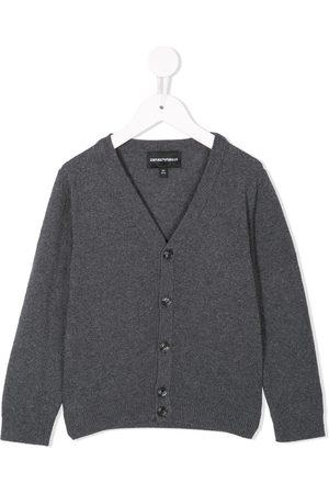 Emporio Armani V-neck cardgan - Grey