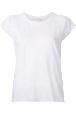 NILI LOTAN Ripped sleeves T-shirt