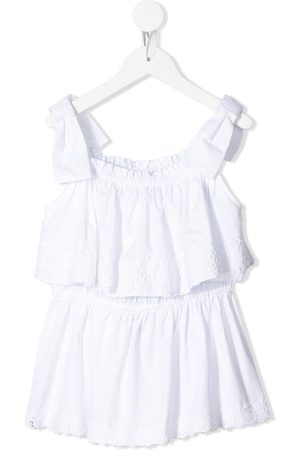 Dolce & Gabbana Sleeveless ruffle top