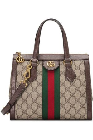 Gucci Ophidia small GG tote bag - Neutrals