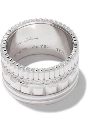 Boucheron Women Rings - 18kt white gold Diamond Quatre Radiant ring - WG