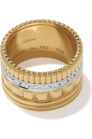 Boucheron Women Rings - 18kt yellow gold Diamond Quatre Radiant ring - YG