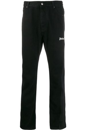 Palm Angels Men Straight - Branded straight jeans