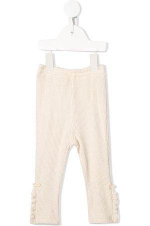 Familiar Ruffle trim leggings