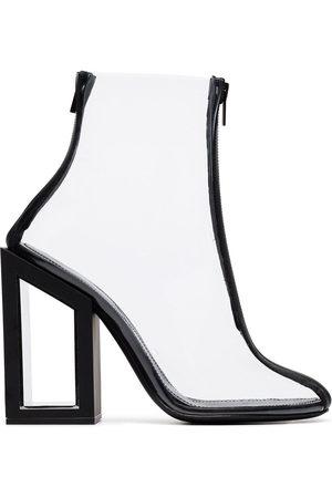 Nicholas Kirkwood Void 105 PVC ankle boots