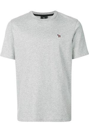 Paul Smith Zebra-patch crew-neck T-shirt - Grey