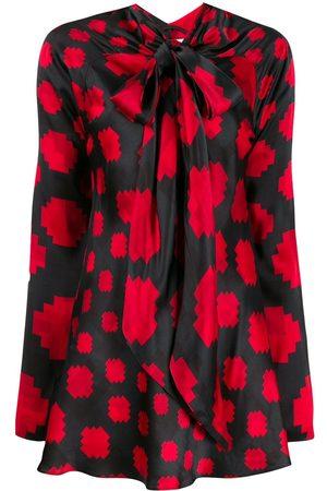 Marni Women Blouses - Pussycat bow printed blouse
