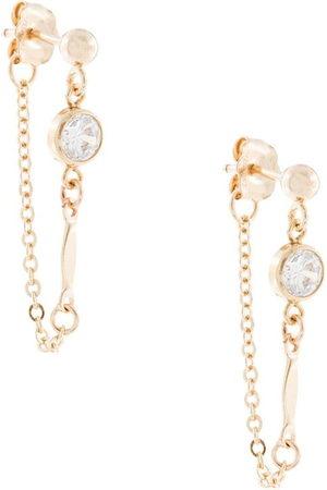 Petite Grand Atlantis Chain stud earrings