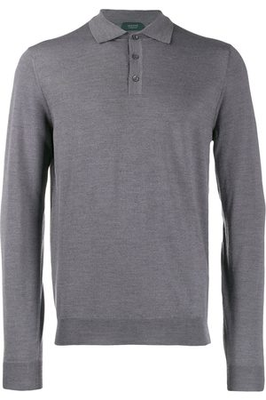 ZANONE Stretch polo shirt - Grey