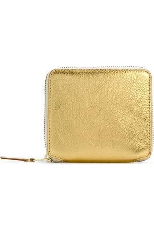 Comme des Garçons Wallets - All-around zipped purse - Metallic