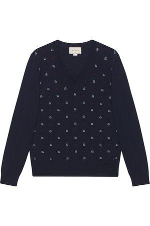 Gucci G dot jacquard jumper