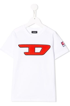 Diesel Boys T-shirts - D logo T-shirt