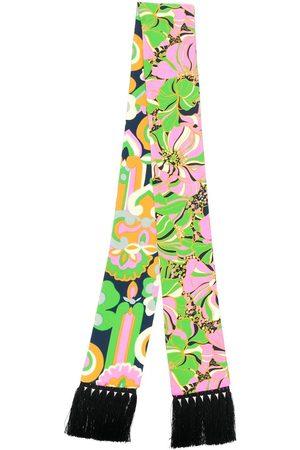 La DoubleJ Skinny printed scarf