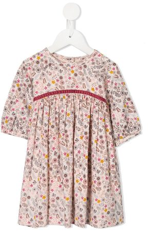 Velveteen Baby Casual Dresses - Paloma floral print dress