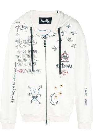 HACULLA Men Hoodies - Nocturnal zip-front hoodie