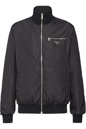 Prada Men Bomber Jackets - Reversible bomber jacket