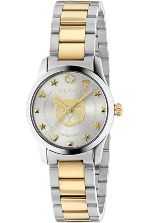 Gucci G-Timeless watch, 27mm - Metallic