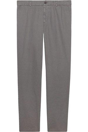 Gucci Cotton drill chinos - Grey