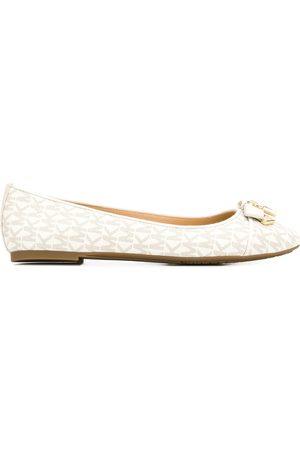 Michael Kors Monogram ballerina shoes - Neutrals