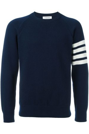Thom Browne 4-Bar French Terry Cashmere Sweatshirt
