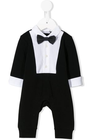 Dolce & Gabbana Kids Baby Rompers - Tuxedo-style romper