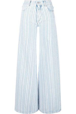OFF-WHITE Women Wide Leg - Wide leg jeans