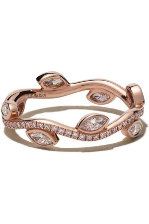 De Beers Jewellers Women Rings - 18kt rose Adonis Rose diamond band