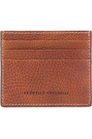 Brunello Cucinelli Embossed logo cardholder