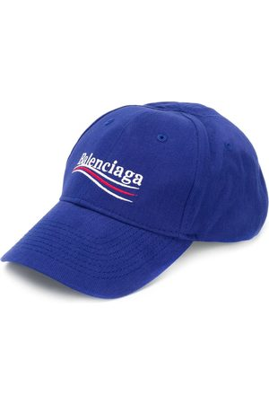 Balenciaga Men Caps - Logo-embroidered cap