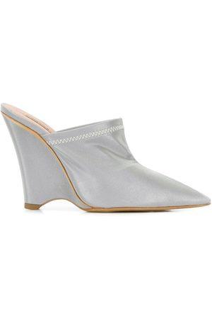 Yeezy Women Wedges - Angled wedge mules - Grey