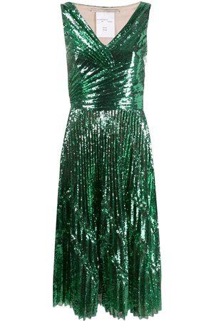 MARCO DE VINCENZO Women Party Dresses - Sequin cocktail dress