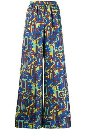 La DoubleJ Printed palazzo pants