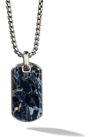 David Yurman Men Necklaces - Exotic Stone Pietersite 35mm tag - SSBPY